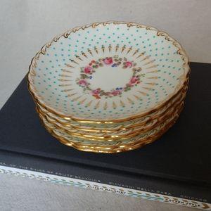 Vintage Floral Teacup Saucers